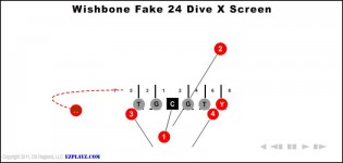 Wishbone Fake 24 Dive X Screen