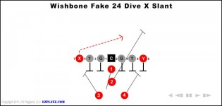 Wishbone Fake 24 Dive X Slant
