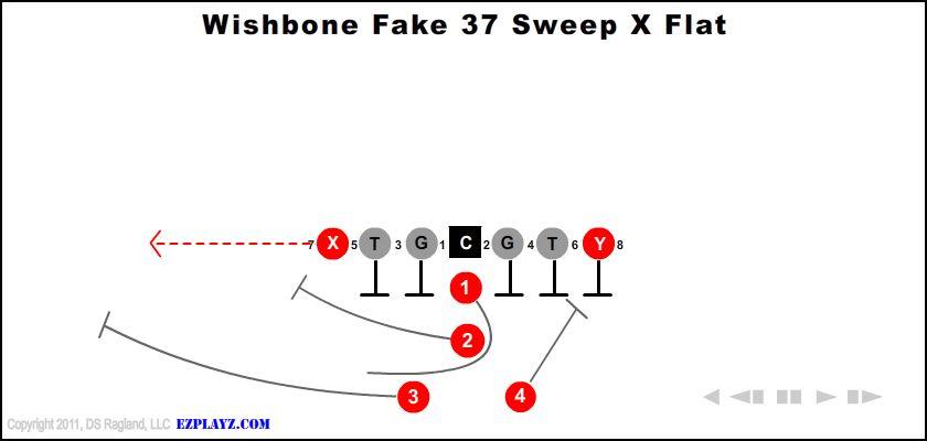 Wishbone Fake 37 Sweep X Flat