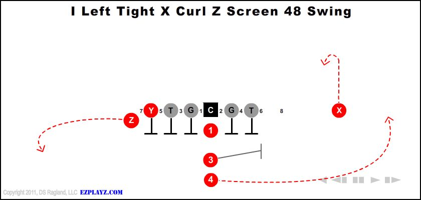 i left tight x curl z screen 48 swing - I Left Tight X Curl Z Screen 48 Swing