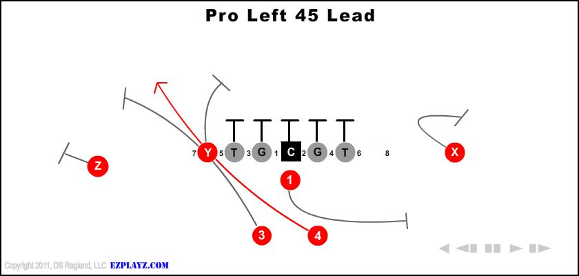 pro left 45 lead - Pro Left 45 Lead
