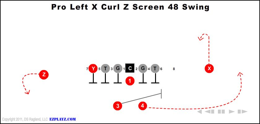 pro left x curl z screen 48 swing - Pro Left X Curl Z Screen 48 Swing