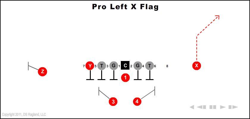 pro left x flag - Pro Left X Flag