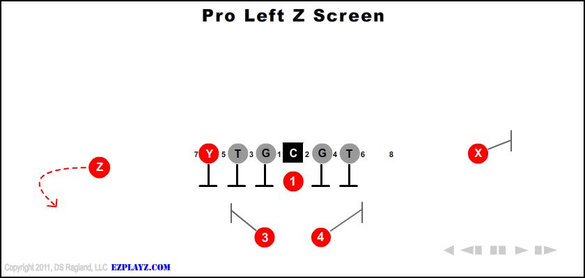 pro left z screen - Pro Left Z Screen