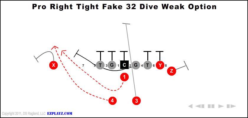 pro right tight fake 32 dive weak option - Pro Right Tight Fake 32 Dive Weak Option