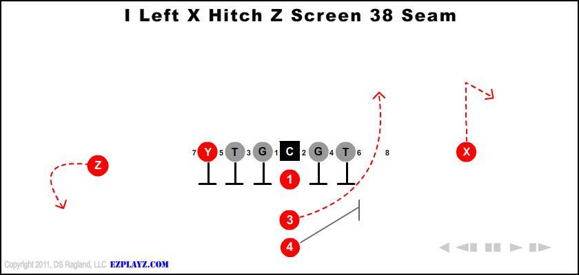 I Left X Hitch Z Screen 38 Seam