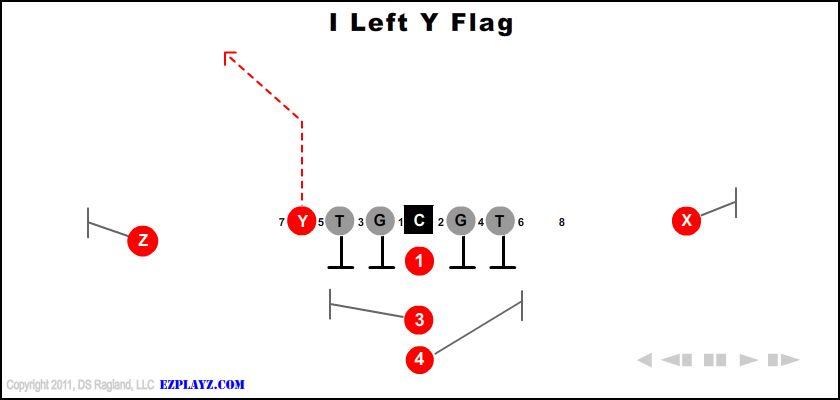 I Left Y Flag