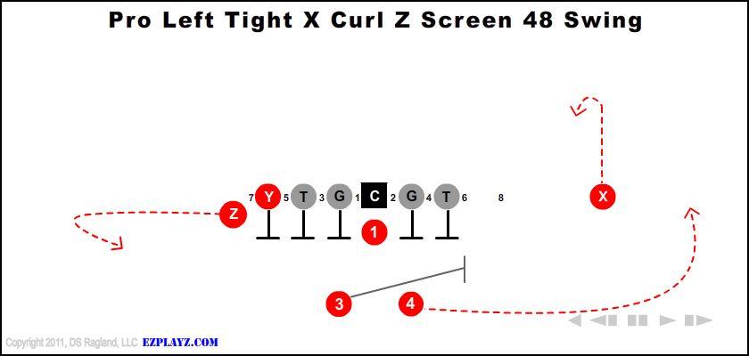 Pro Left Tight X Curl Z Screen 48 Swing