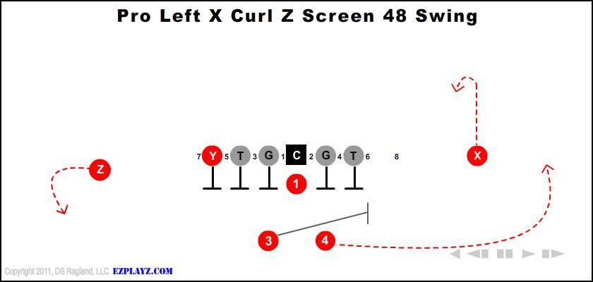 Pro Left X Curl Z Screen 48 Swing