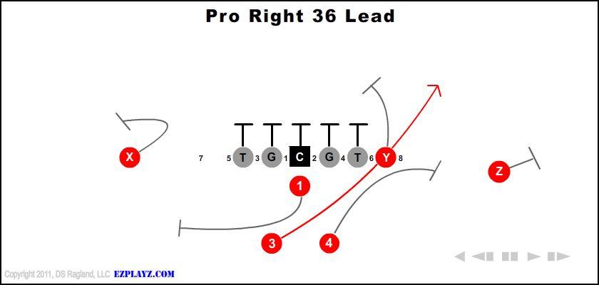 Pro Right 36 Lead