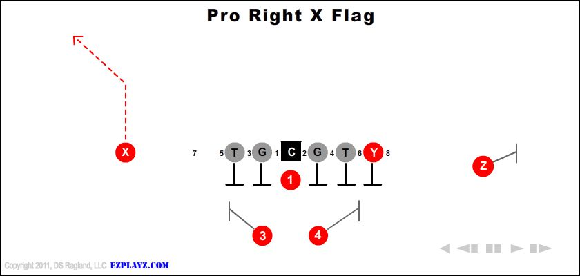 Pro Right X Flag