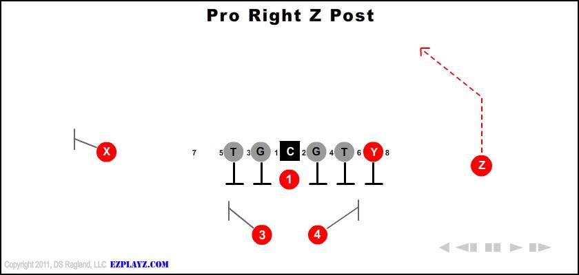 Pro Right Z Post