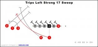 trips left strong 17 sweep 315x150 - Trips Left Strong 17 Sweep