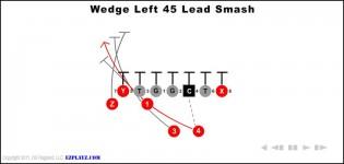 wedge left 45 lead smash 315x150 - Wedge Left 45 Lead Smash