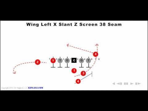 Animated Play – Wing Left X Slant Z Screen 38 Seam
